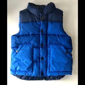 Baby Gap - NWOT Puffer Vest 4T Bright Blue